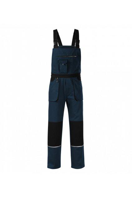 Woody W02 Pracovní kalhoty s laclem pánské